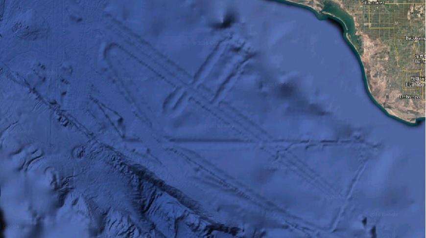 UFO的海底基地?墨西哥海灣發現「巨型外星城市」