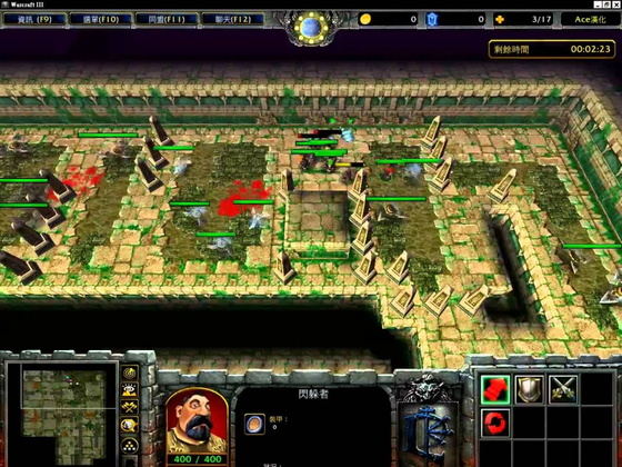 圖/《金字塔大冒險》是魔獸爭霸中非常經典的一張自製地圖,此為正常版。
