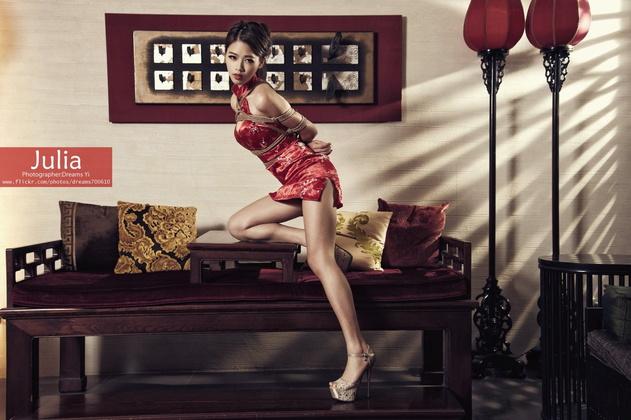 ▲圖片來源/Joeman提供 咪妃認為綑綁也是藝術的一種