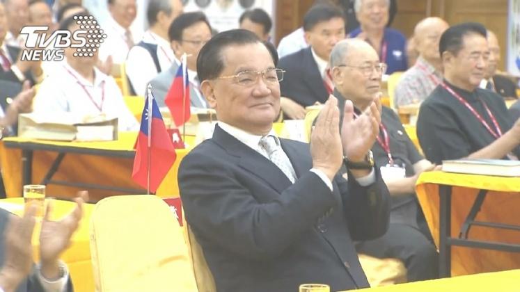 圖/TVBS資料照片 連戰赴陸前夕 9日將與王金平等黨內大老聚餐