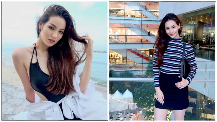 日前網路上流傳一段自慰影片,泰國名模茱莉坦言女主角就是她本人。(圖/翻攝自IG) 「自摸」影片遭瘋傳 名模坦承:19歲拍的