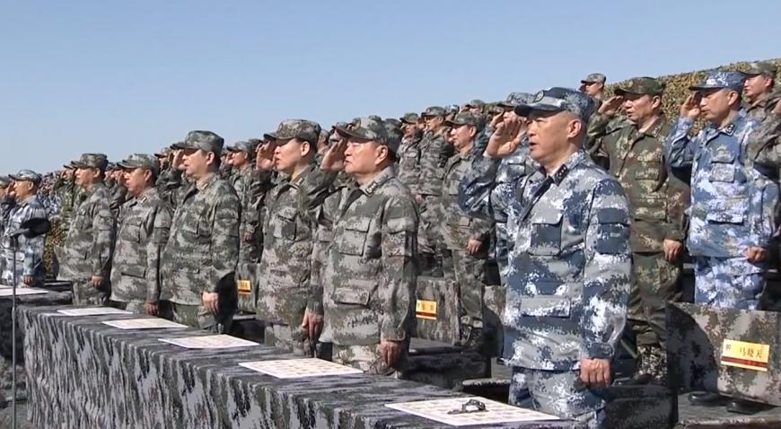 圖/YouTube CCTV中国中央电视台 陸建軍節移師朱日和 閱兵展示沙場風格