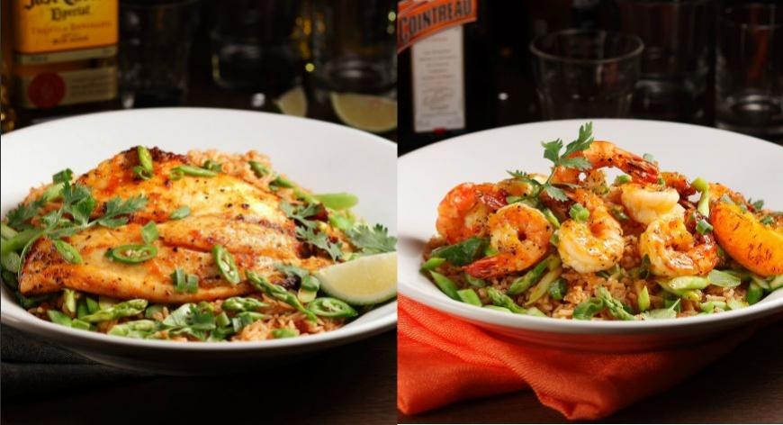 圖/TGI FRIDAYS提供 以酒入菜玩創意 幸福微醺料理心醉上桌!