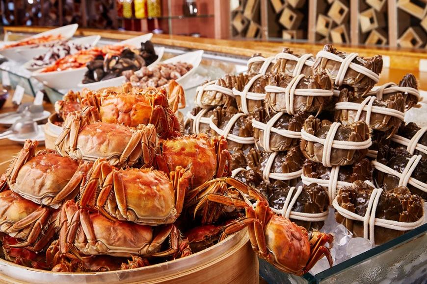 醉月樓中餐廳「大閘蟹饗宴」(圖/香格里拉台南遠東飯店)