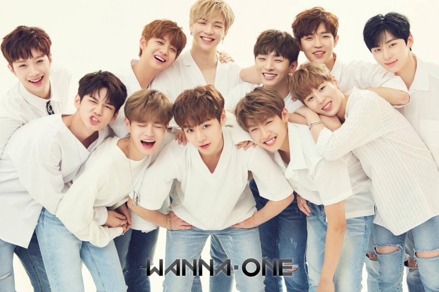 圖/Wanna One 臉書 制止台下粉絲推擠 Wanna One靠這招!