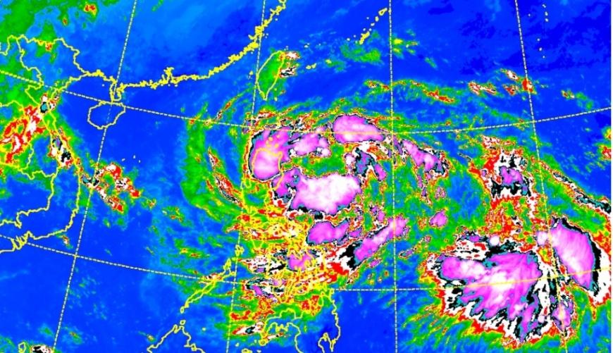 圖/中央氣象局 「準颱風」+鋒面南北夾擊! 全台大雨狂掃3天