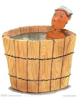 日式風呂桶(呢圖網http://www.nipic.com/show/2/61/ae3bd334894faa86.html)