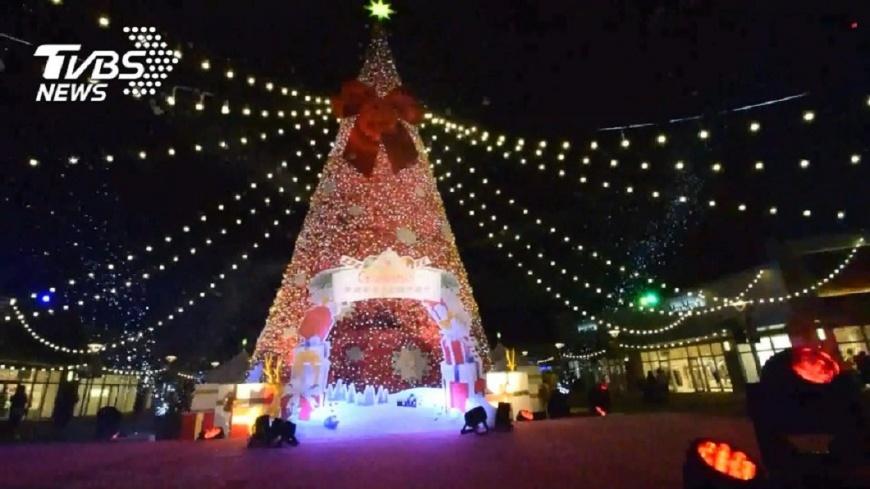 圖/TVBS 百貨業延續週年慶熱潮 推耶誕優惠活動