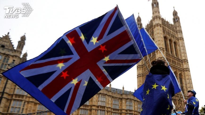 圖/達志影像路透社 傳英國和歐盟就脫歐 分手費達成協議