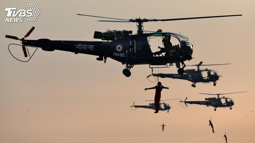 圖/達志影像路透社 回應中國擴張 印度強化區域軍事關係