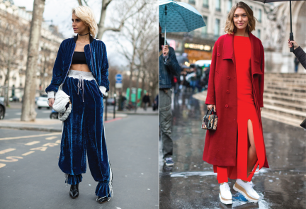 photo from vogue / 2017 fw fashion week 50 beat style