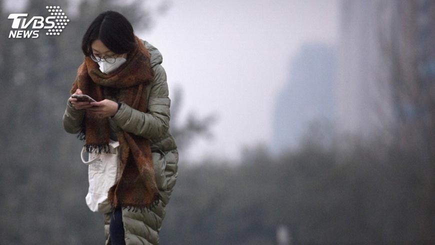 圖/達志影像美聯社 河北保定治霾 全年含春節禁放煙火5年