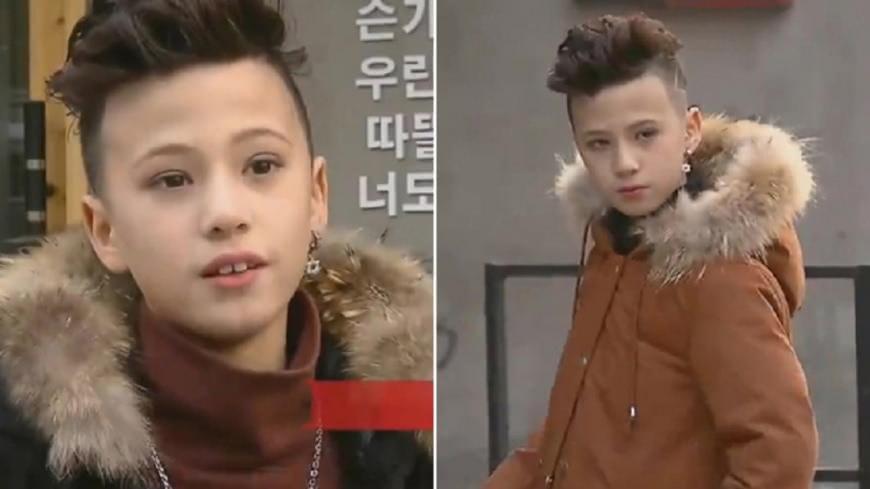 11歲童裝模特兒葉祖銘。翻攝《看看新聞》 11歲模特兒年收300萬  「這種賺錢方法較容易」