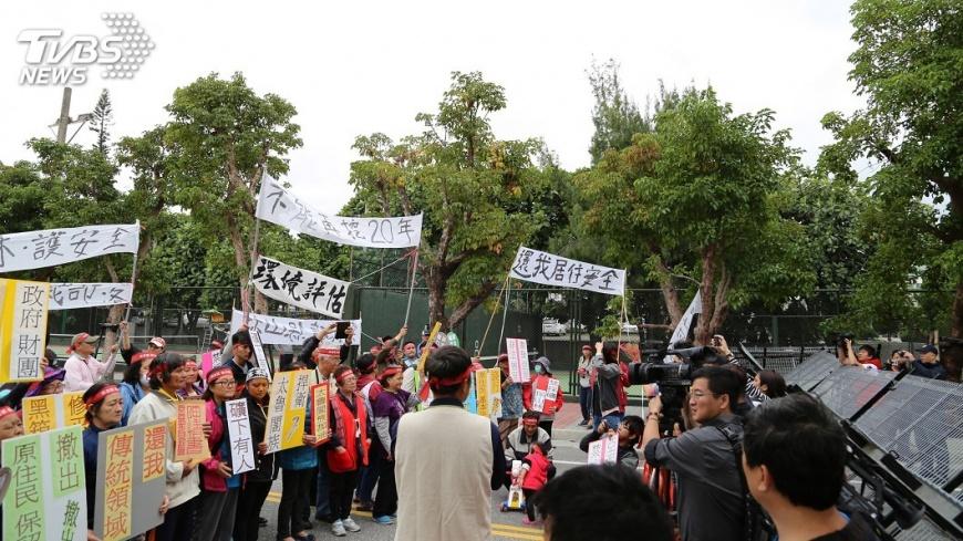 圖/中央社 反亞泥陳情凸顯礦業法問題  下週送立院