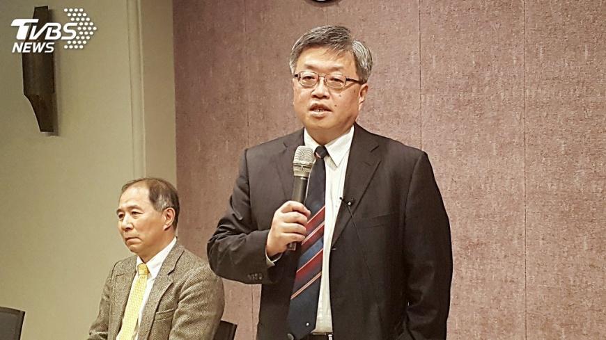 圖/中央社 陳銘憲:台大校友各行業貢獻高