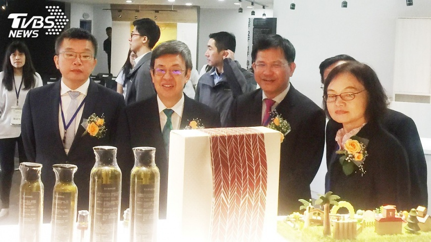 圖/中央社 副總統讚弘光科大 0到99歲的人都照顧