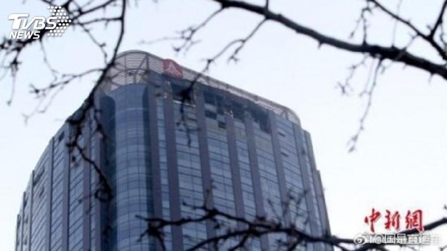 天津城市大廈火警  裝潢起火釀災