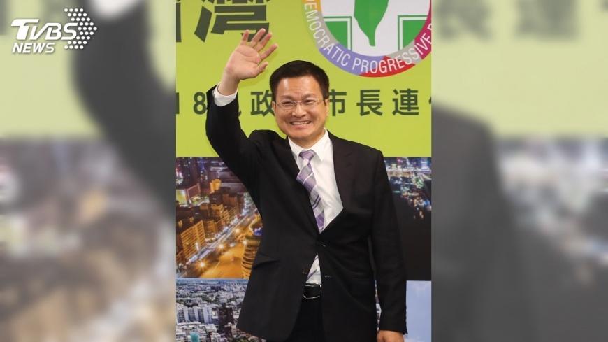 圖/中央社 魏明谷:盼再給4年  連任延續縣政建設
