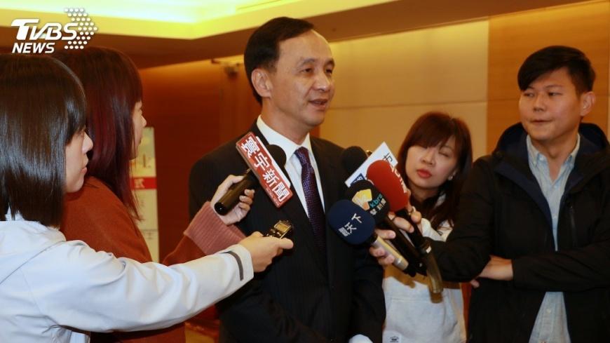 圖/中央社 新北選情 朱立倫:不要只想選舉