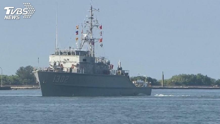 圖/TVBS 106年國防報告書未列獵雷艦 續造否評估中