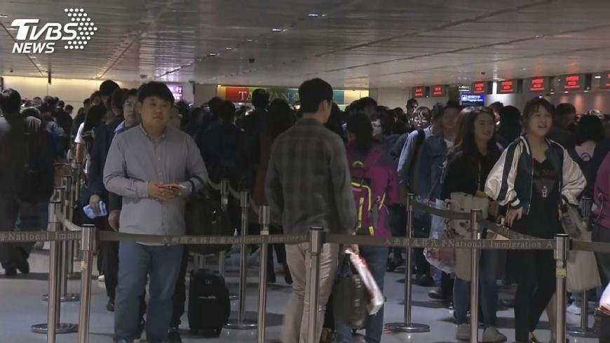 圖/TVBS 東南亞旅客消費力強 國外來台旅客排第2