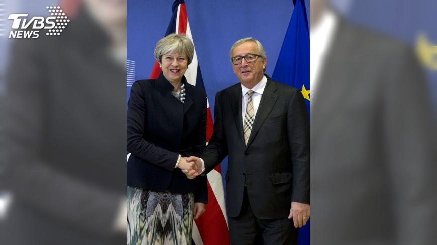 圖/達志影像美聯社 脫歐首輪談判期限屆滿 英歐仍未達協議