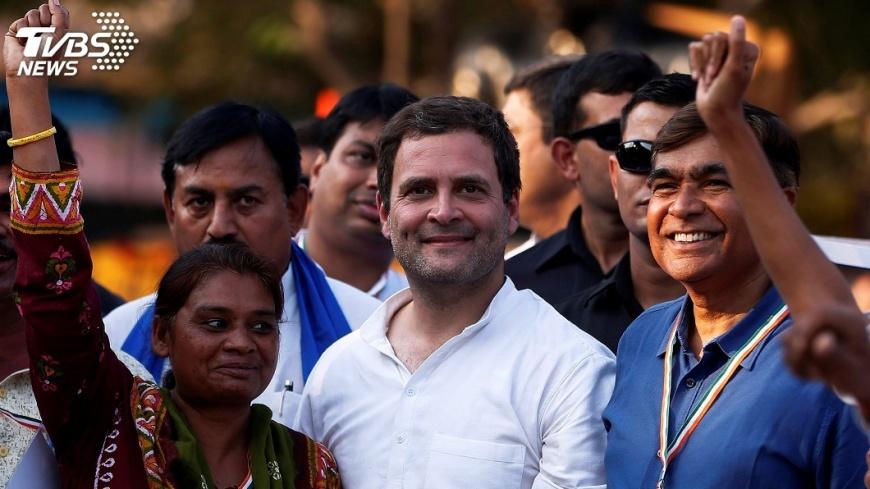 圖/達志影像路透社 拉胡爾甘地將領導國大黨 挑戰總理寶座