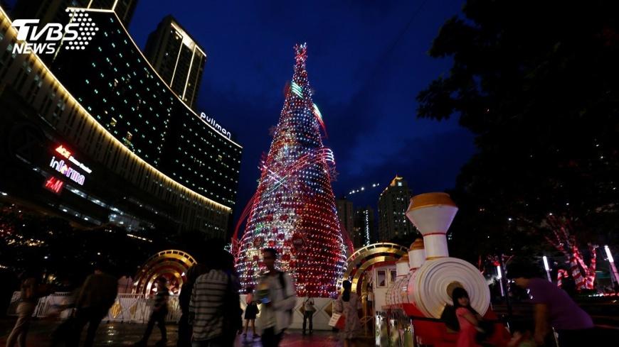 圖/達志影像路透社 印尼獨立廣場解禁  雅加達允慶祝耶誕