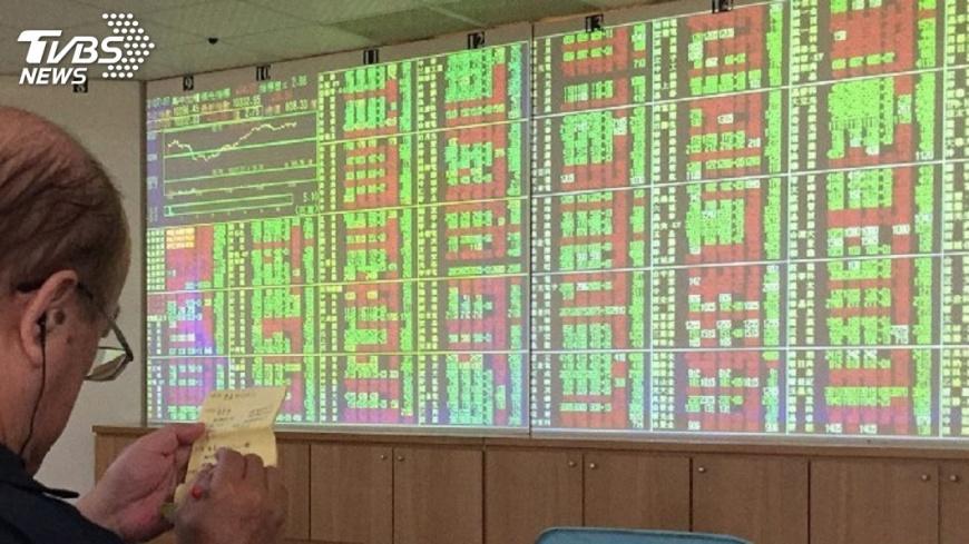 圖/中央社 台股紅盤封關 收漲49.34點