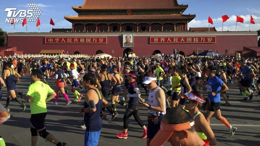 圖/達志影像美聯社 中國愛辦馬拉松 非洲運動員自成供應鏈