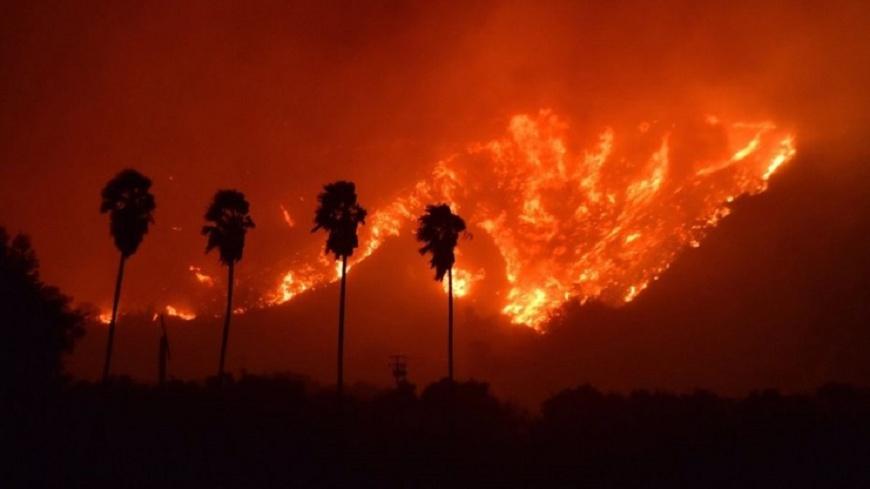 洛杉磯大火波及住家學校 民眾撤離