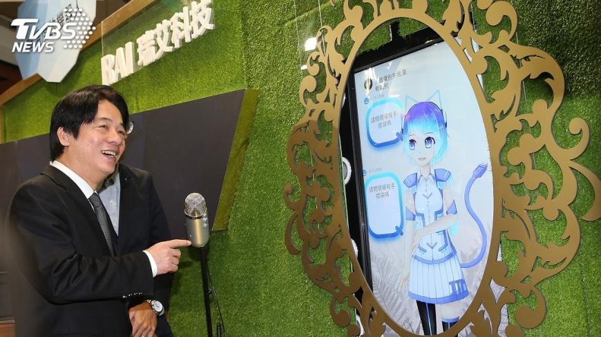 圖/中央社 支持資通訊產業 賴清德推3大方向
