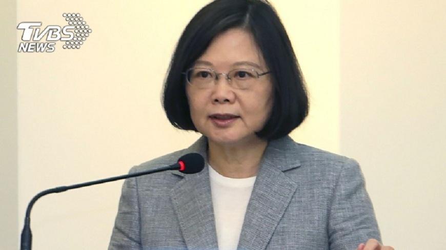 圖/中央社 加速投資台灣 總統盼民眾不再低薪