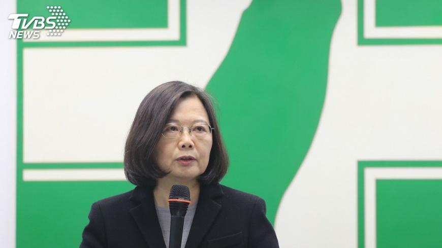 圖/中央社 重申四不變!勞基法初審引批評 蔡英文概括承受