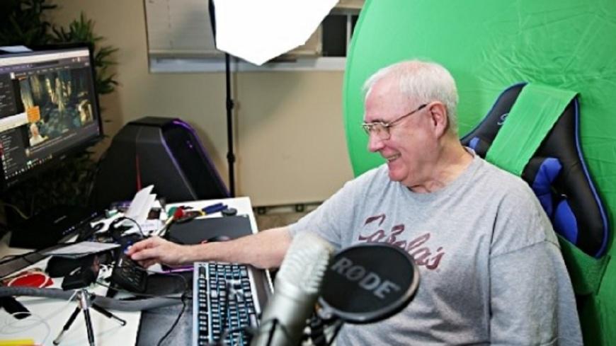 圖/翻攝自《Inven Global》 打到死為止!64歲網紅阿公靠電玩抗癌