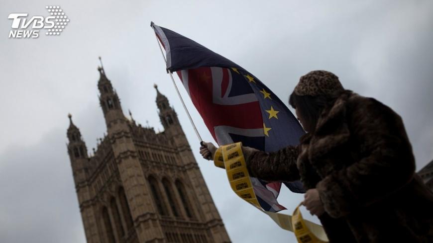 圖/達志影像路透社 英國脫歐協商重大突破 英股開盤持平