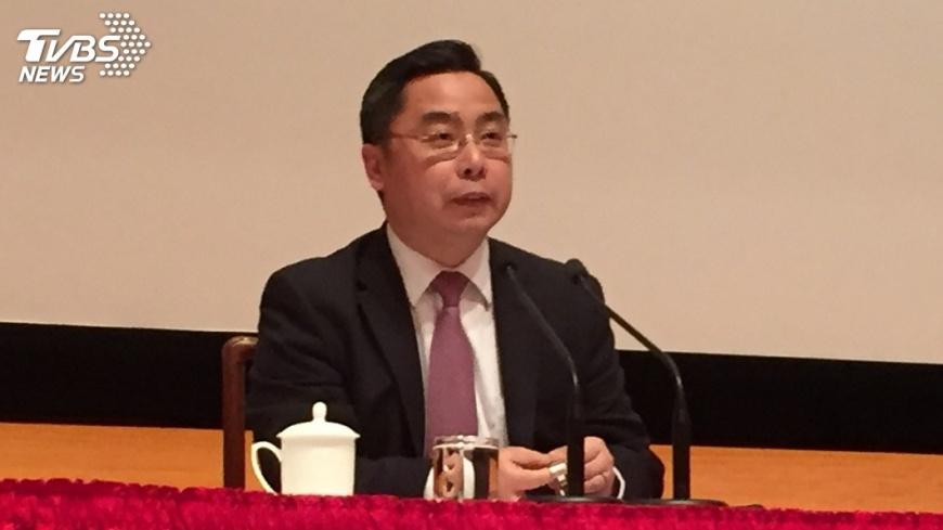 圖/中央社 回應中駐美公使 陸委會籲尊重台灣民意