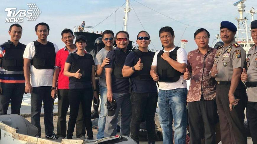 圖/中央社 打擊跨國犯罪 調查局印尼合作成果豐