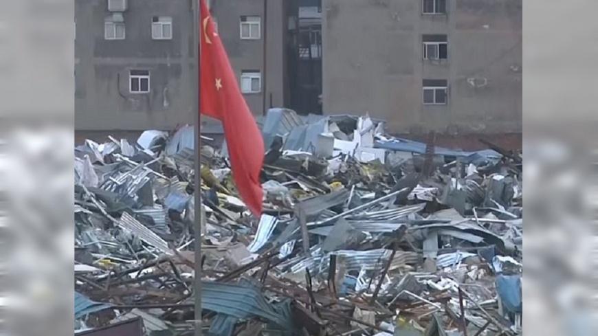 圖/YouTube 北京大力驅趕「低端人口」 CNN採訪遭阻擋