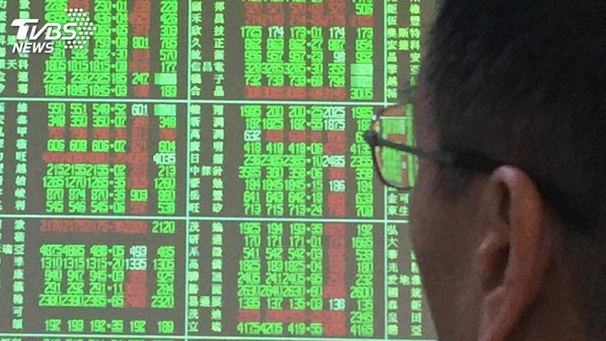 圖/中央社 台股重登10500點 台積電尾盤助陣