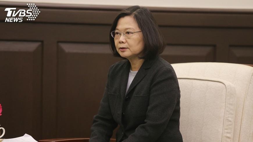 圖/中央社 共機頻擾台 蔡總統視導空軍促嚴密監控