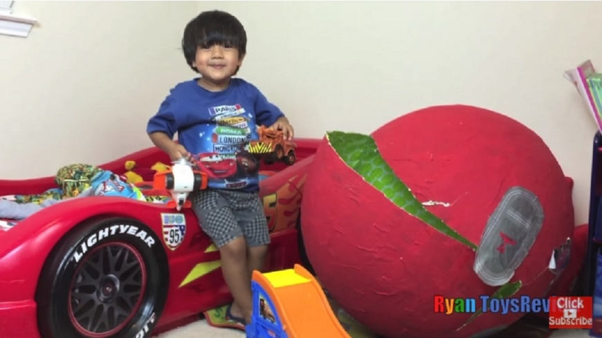 圖/翻攝自Ryan ToysReview YouTube