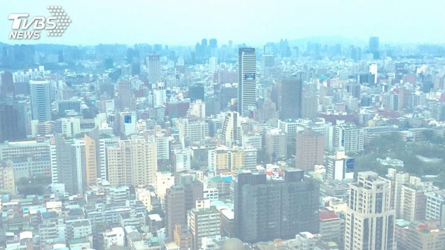 圖/中央社 空汙改善!中市11月PM2.5月均值 創6年新低