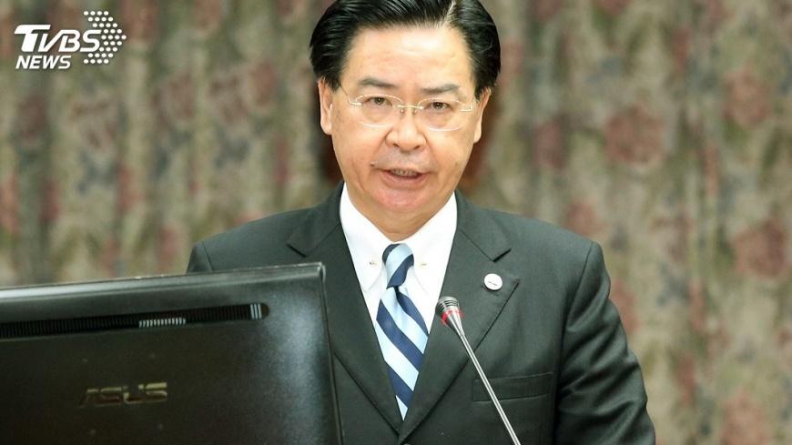 圖/中央社 吳釗燮使命必達 掌外交拓展國際深度連結