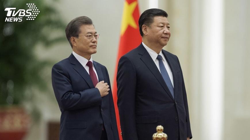 圖/達志影像美聯社 中韓領導人展開會談 雙邊關係是否恢復引關注