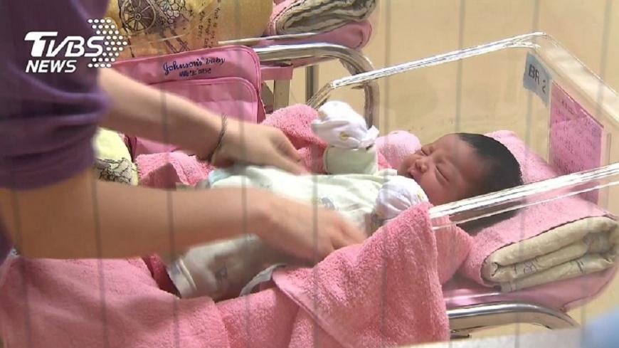 圖/TVBS 綠委提第二胎國家養 林萬億:納參考