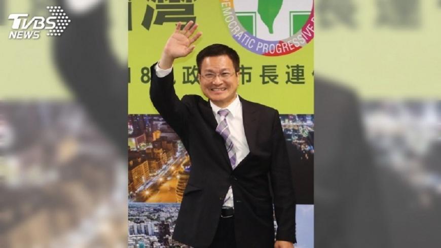 圖/中央社 魏明谷:把縣政做好 自己跟自己比賽