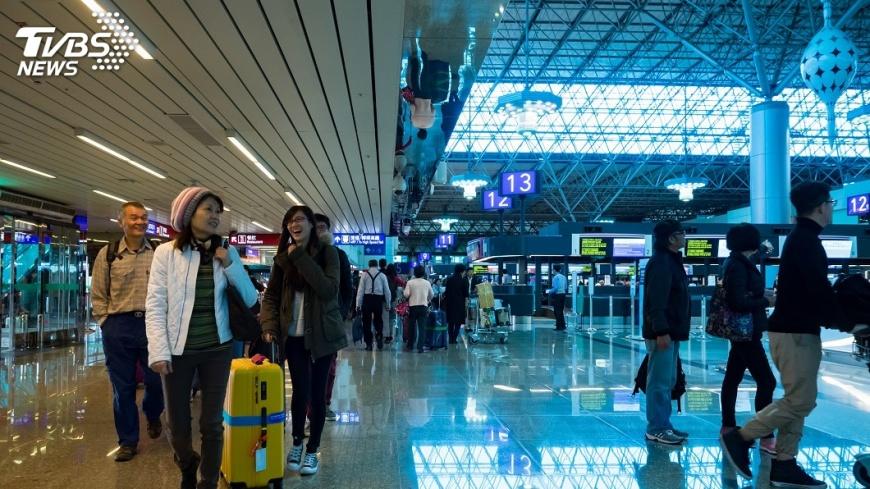 示意圖/TVBS 日本新年出國旅客增 台灣人氣旺
