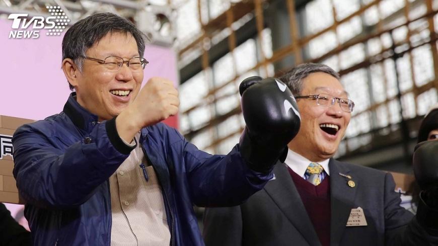圖/中央社 姚文智17日宣布選台北市長 對戰柯文哲