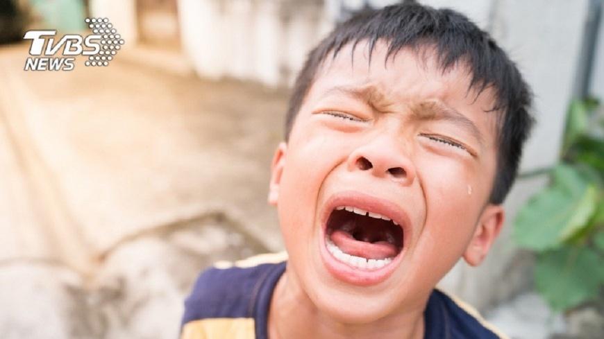 有專家認為體罰會造成兒童的心理陰影。示意圖/TVBS